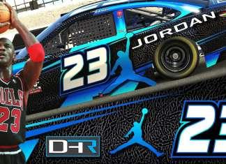 MICHAEL JORDAN NASCAR