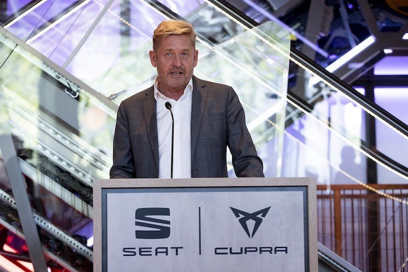 Wayne Griffiths SEAT CEO
