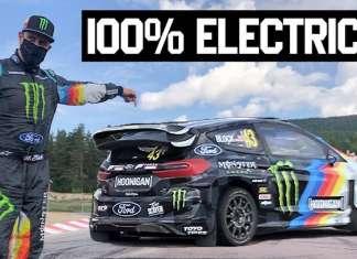 ken block rallycross electric