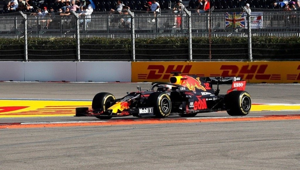 Verstappen Takes Second Place At The Russian Grand Prix As Honda Drivers Finish In The Points