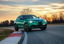 Alfa Romeo Stelvio Quadrifoglio Nurburgring