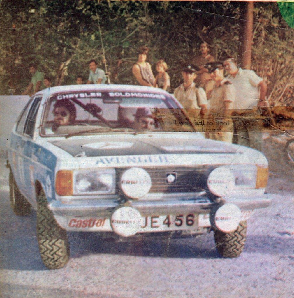 Cyprus Rally 1977