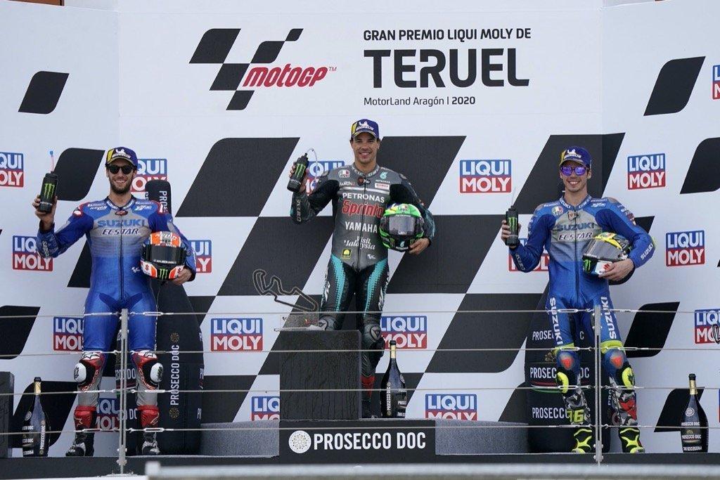 MOTOGP SPAIN-ARAGON II 12 Round