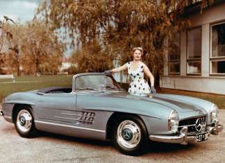 Mercedes-Benz 300 SL Roadster (W 198 II).