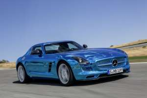 Mercedes-Benz SLS AMG Coupé Electric Drive Mercedes-Benz SLS AMG Coupé Electric Drive