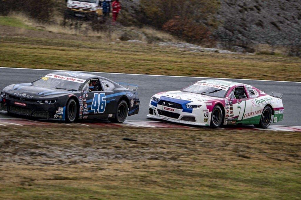 NASCAR Whelen Euro Series Vladimiros tziortzis