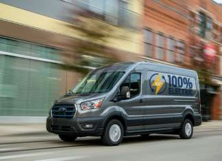 All new Ford E-Transit
