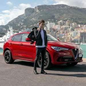 Charles Leclerc - Alfa Romeo Stelvio QV