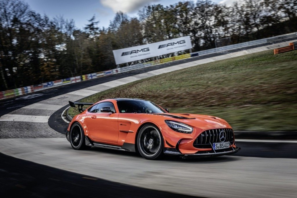 Mercedes-AMG GT Black Series is fastest series production car on the Nürburgring-Nordschleife