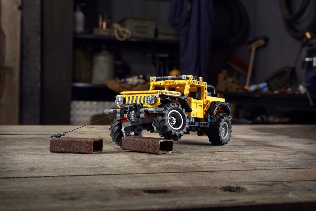 The Jeep® brand and the LEGO Group reveal the Jeep Wrangler Rubicon LEGO® Technic™ model.