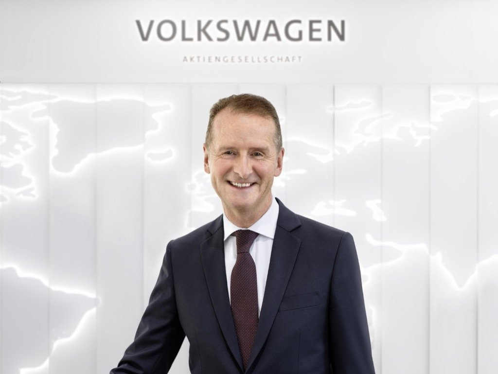 Chairman of the Board of Management of Volkswagen AG Dr. Herbert Diess