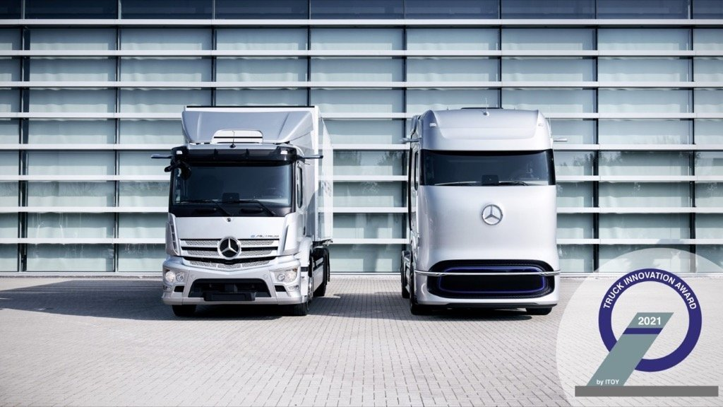 Mercedes-Benz eActros and Mercedes-Benz Ge