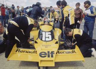 Renault 43 years in Formula One