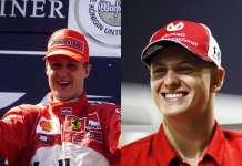 Mick Schumacher Michael Schumacher F1