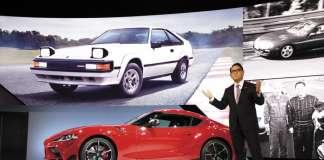 2020 Toyota Supra Akio Toyoda