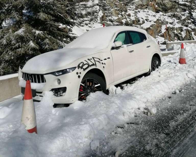 Maserati Levante Troodos Cyprus