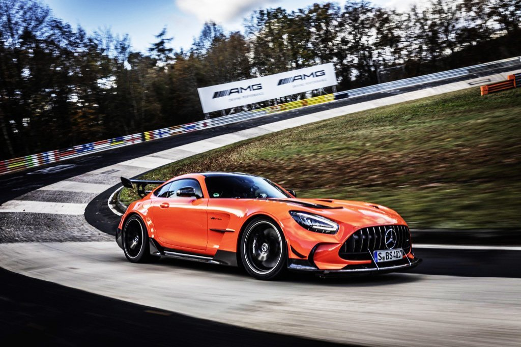 Mercedes-AMG GT Black Series schnellstes Serienfahrzeug auf der Nürburgring-NordschleifeMercedes-AMG GT Black Series is fastest series production car on the Nürburgring-Nordschleife
