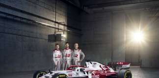 Alfa Romeo Racing ORLEN with Drivers 2021 FORMULA 1