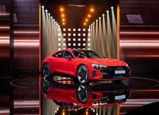 World premiere of the Audi etron GT: Celebration of Progress