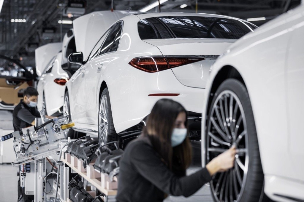 Ορόσημο 50 εκατομμυρίων αυτοκινήτων από τη Mercedes-Benz Mercedes-Benz: 50 million passenger cars from the global production network
