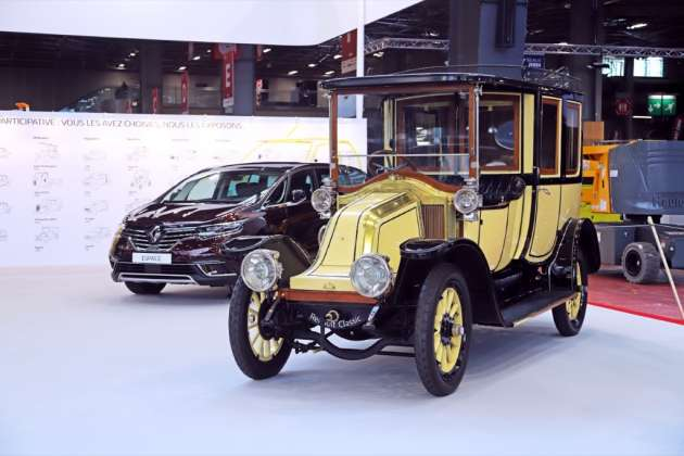 Renault Type BY from 1910 and Renault Espace