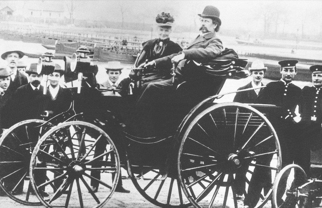 Bertha Benz, η σύζυγος του Carl Benz,