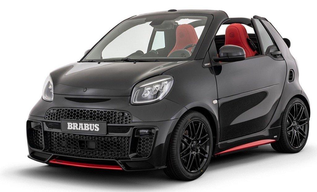 Smart Brabus 92R Cyprus CIC