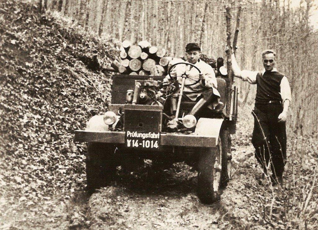 1946 – Το πρωτότυπο Unimog