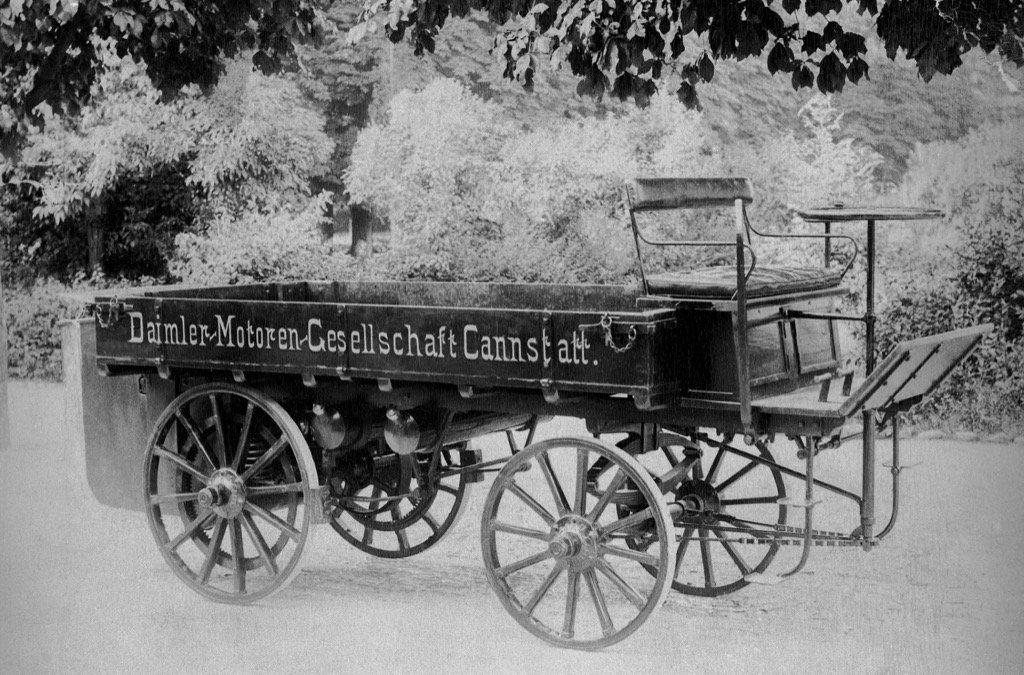 First Mercedes Truck 1896