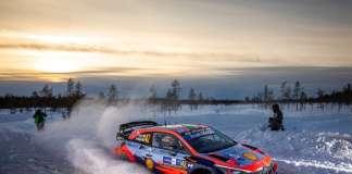 WRC Rally Finland HYUNDAI 2021