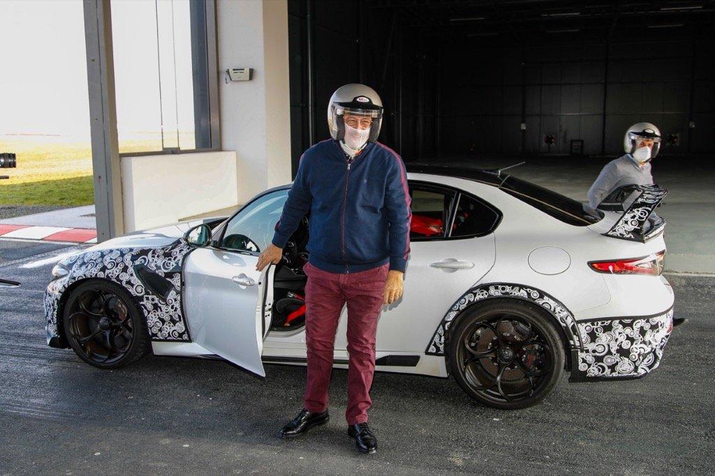 Alfa Romeo Giulia GTAm CIC AUTOMASTERS CYPRUS