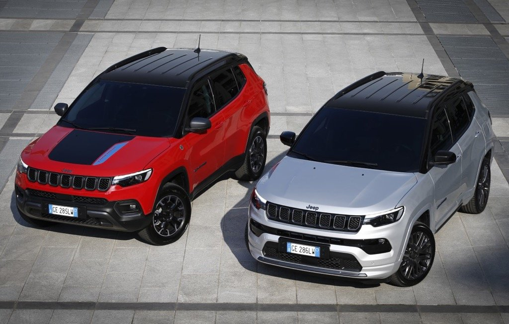 Jeep Compass Trailhawk and S 4xe