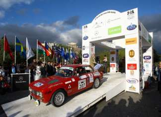 Historic Acropolis Regularity Rally Petros Soutzis Stelios Vanezos