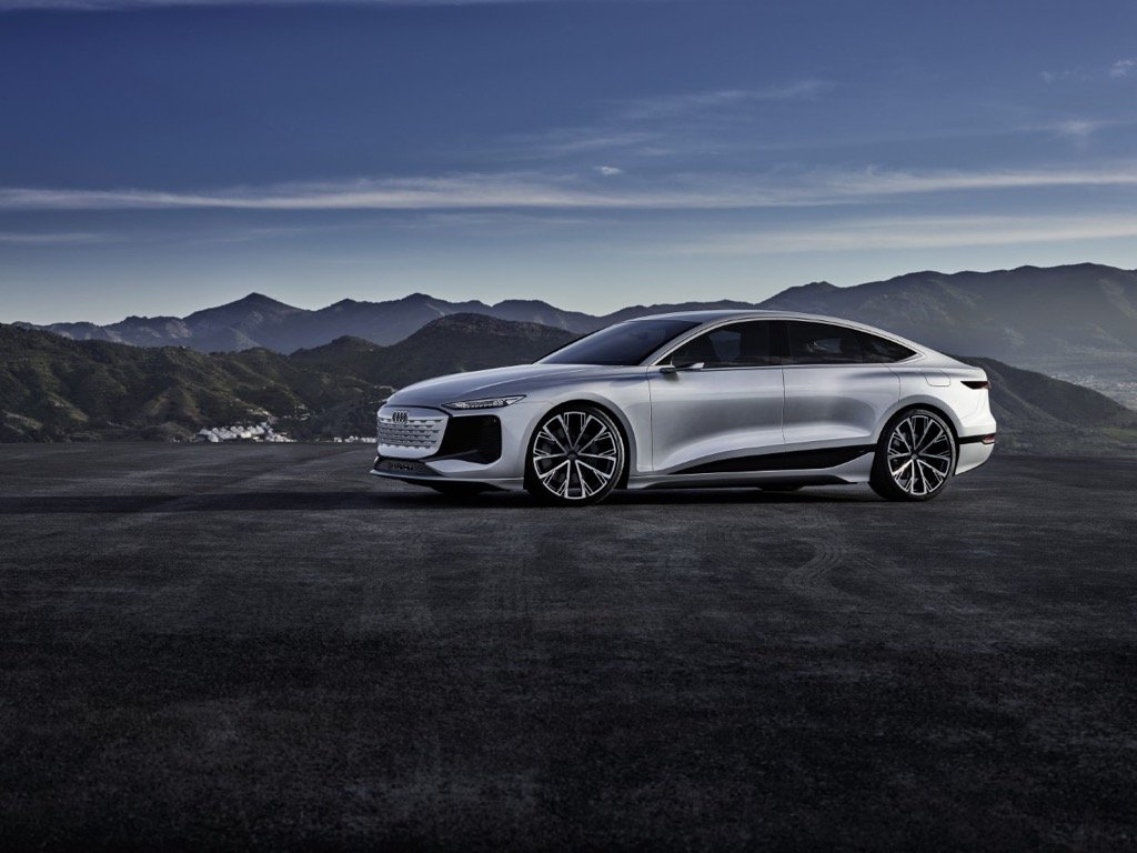 Audi A6 e-tron concept unicars cyprus