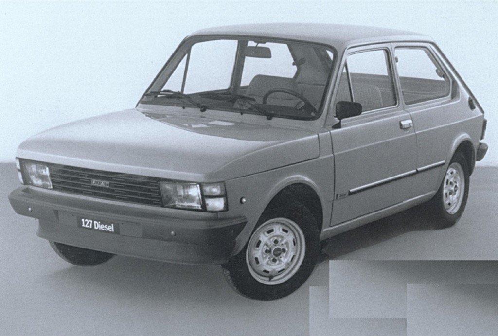 FIAT 127 DIESEL 1980 - 1981
