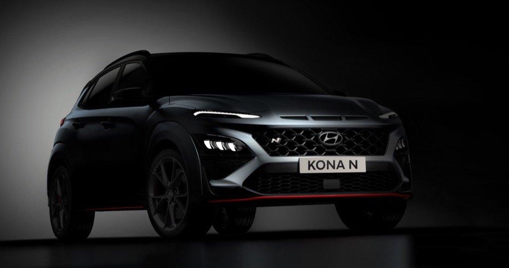 Hyundai KONA N teaser