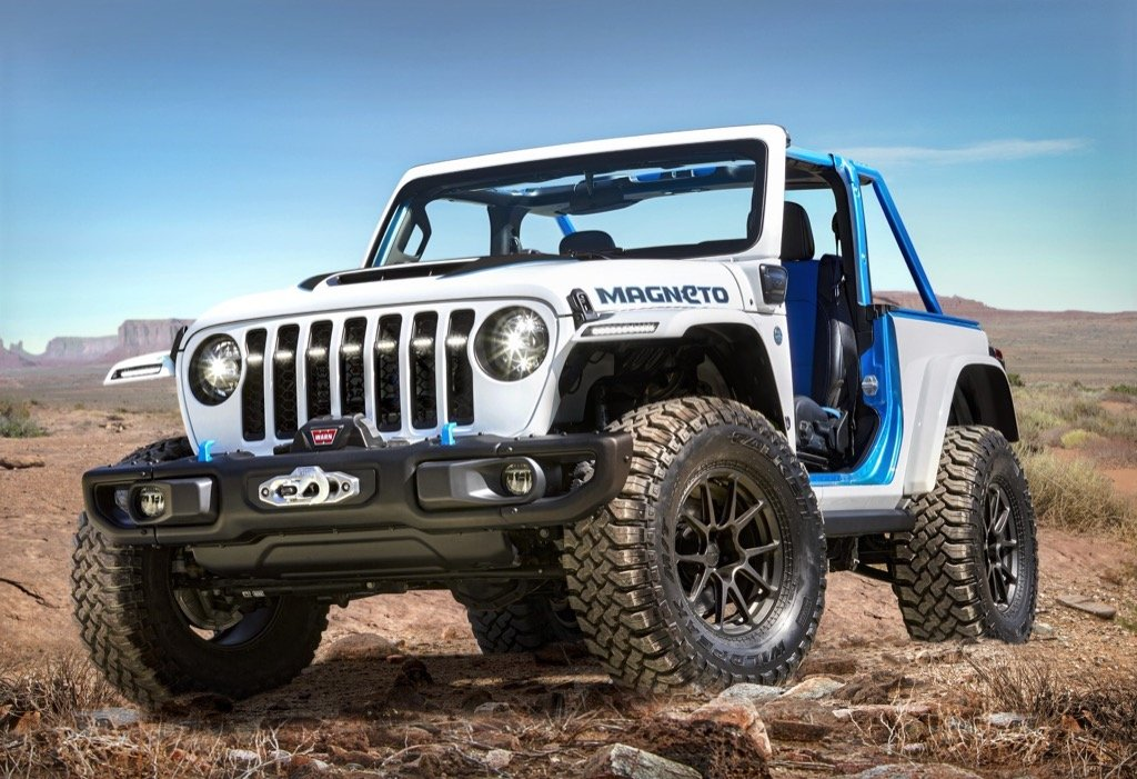 Jeep® Wrangler Magneto concept