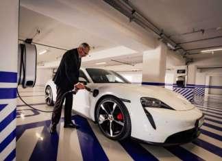 Porsche Chargers at Radisson BLU