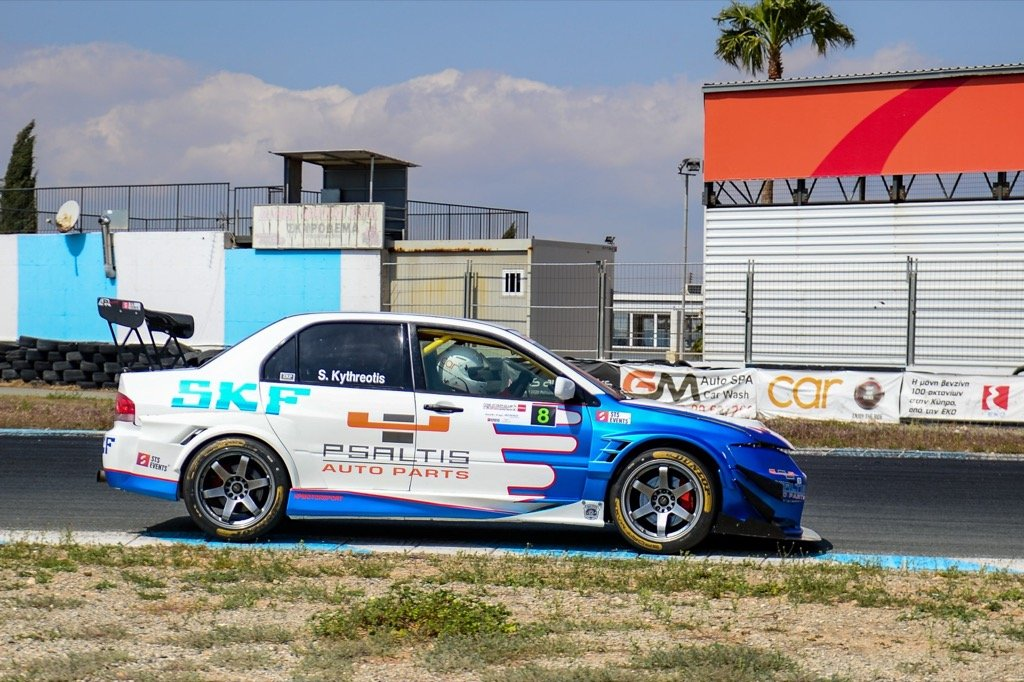 Psaltis autoparts eneos cyprus time attack Στέλιος Κυθραιώτης