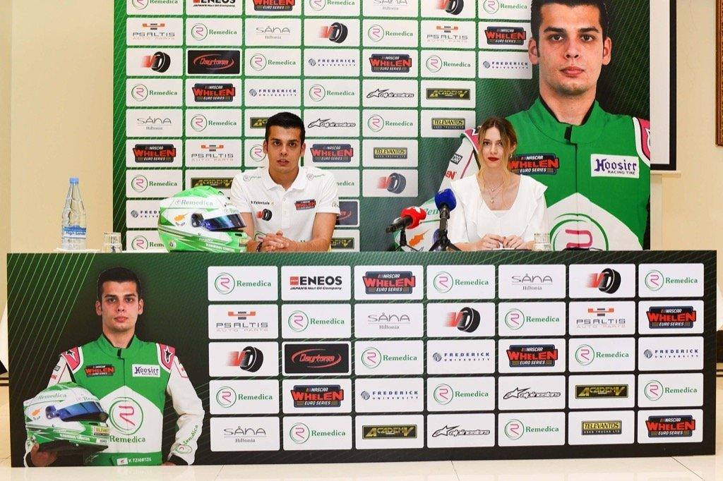VLADIMIROS TZIORTZIS NASCAR WHELEN EUROSERIES PRESS CONFERENCE