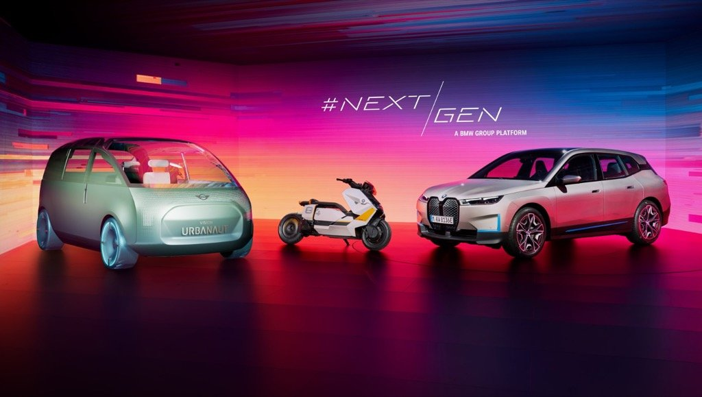 IF DESIGN GOLD AWARD FOR BMW GROUP