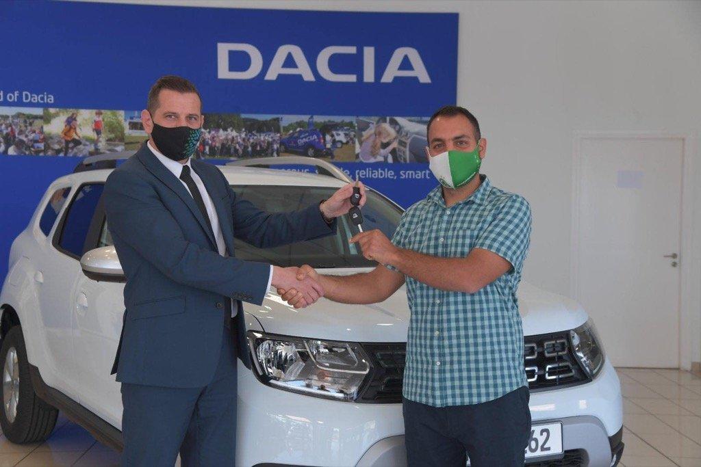 Omonoia Dacia Cyprus char pilakoutas