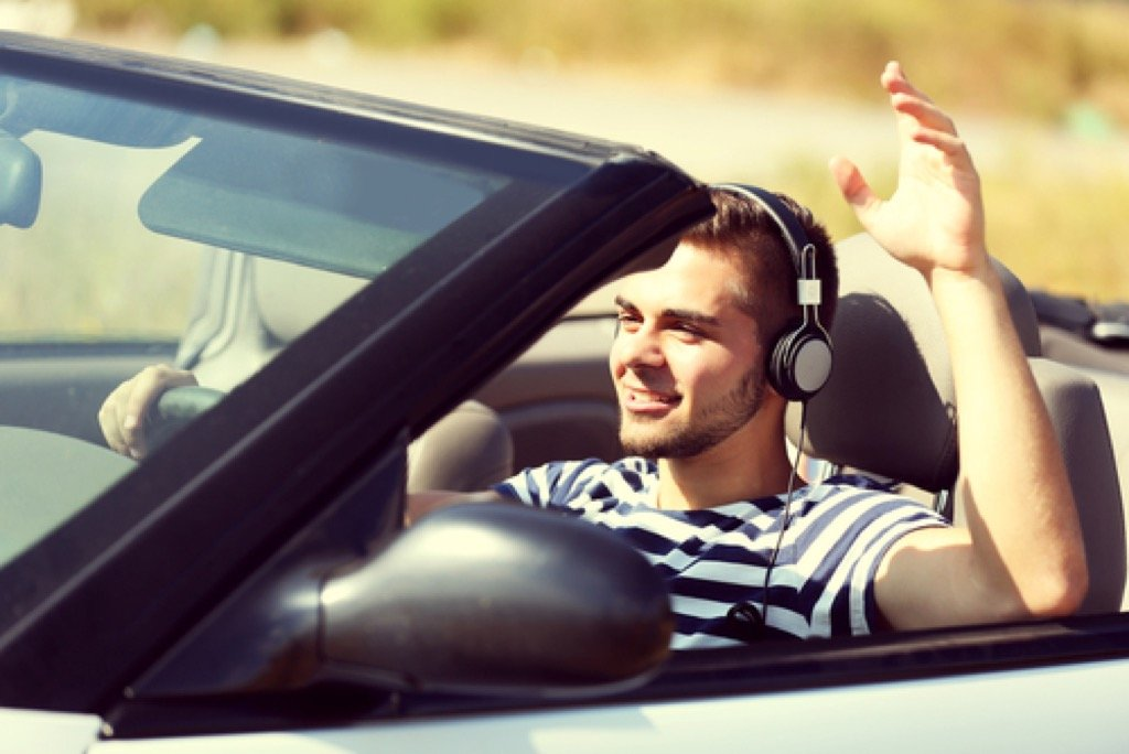driving WITH headphones FORD CYPRUS