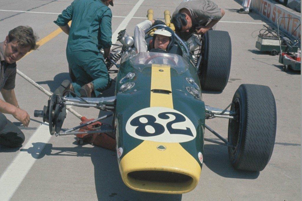 Colin Chapman Formula 1 JIM CLARK LOTUS