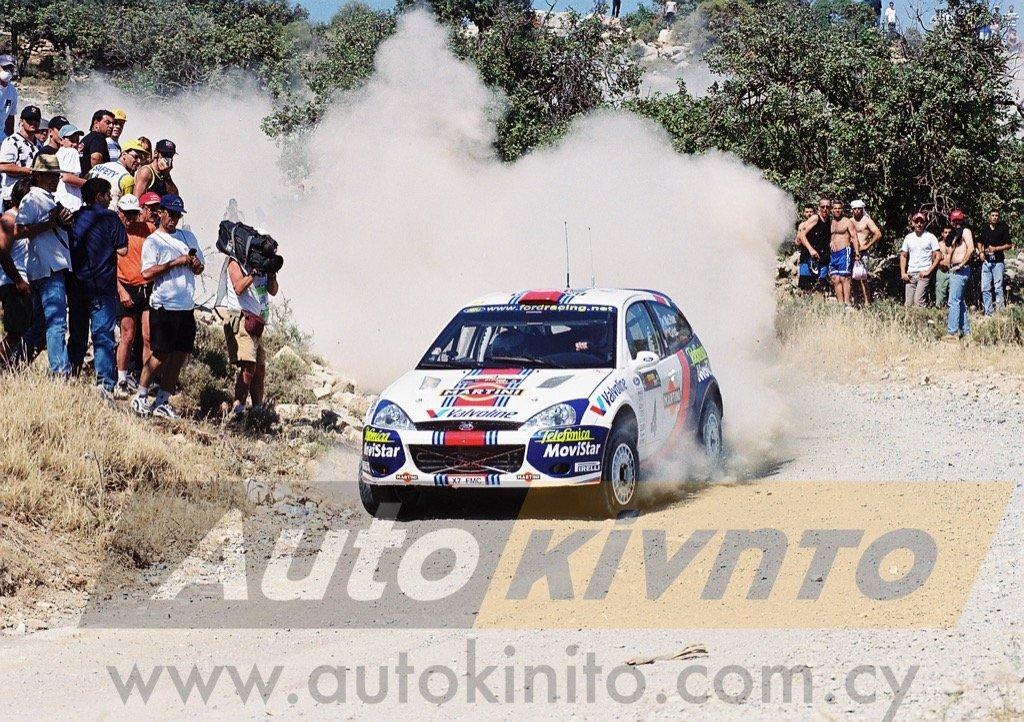 colin mcrae cyprus rally 2001