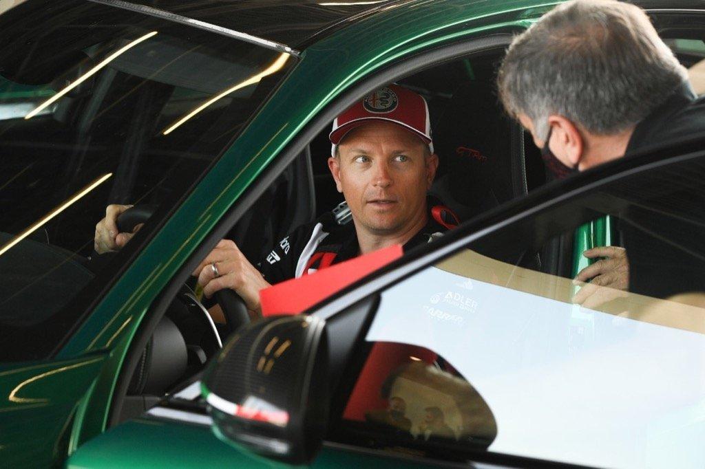 Kimi Raikkonen alfa romeo Cic automasters Cyprus f1