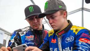 Oliver and Petter Solberg
