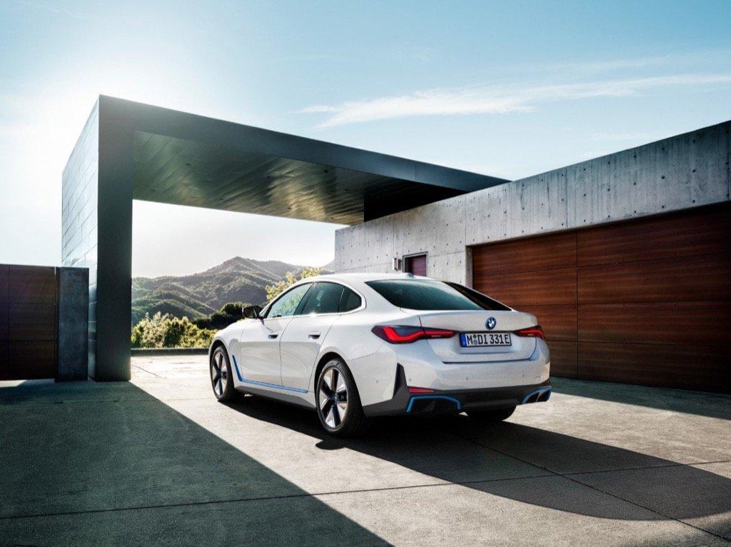 BMW i4 Char pilakoutas bmw cyprus
