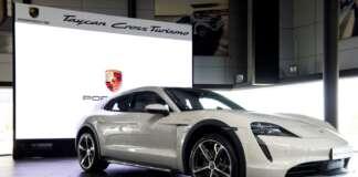 Taycan Cross Turismo Cyprus Porsche A.I Motokinisi