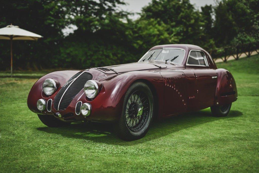 Alfa Romeo at REB Concours 2021